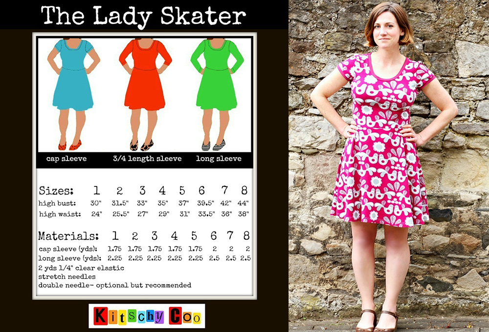 74f7948165 Tried and True Pattern  The Lady Skater Dress