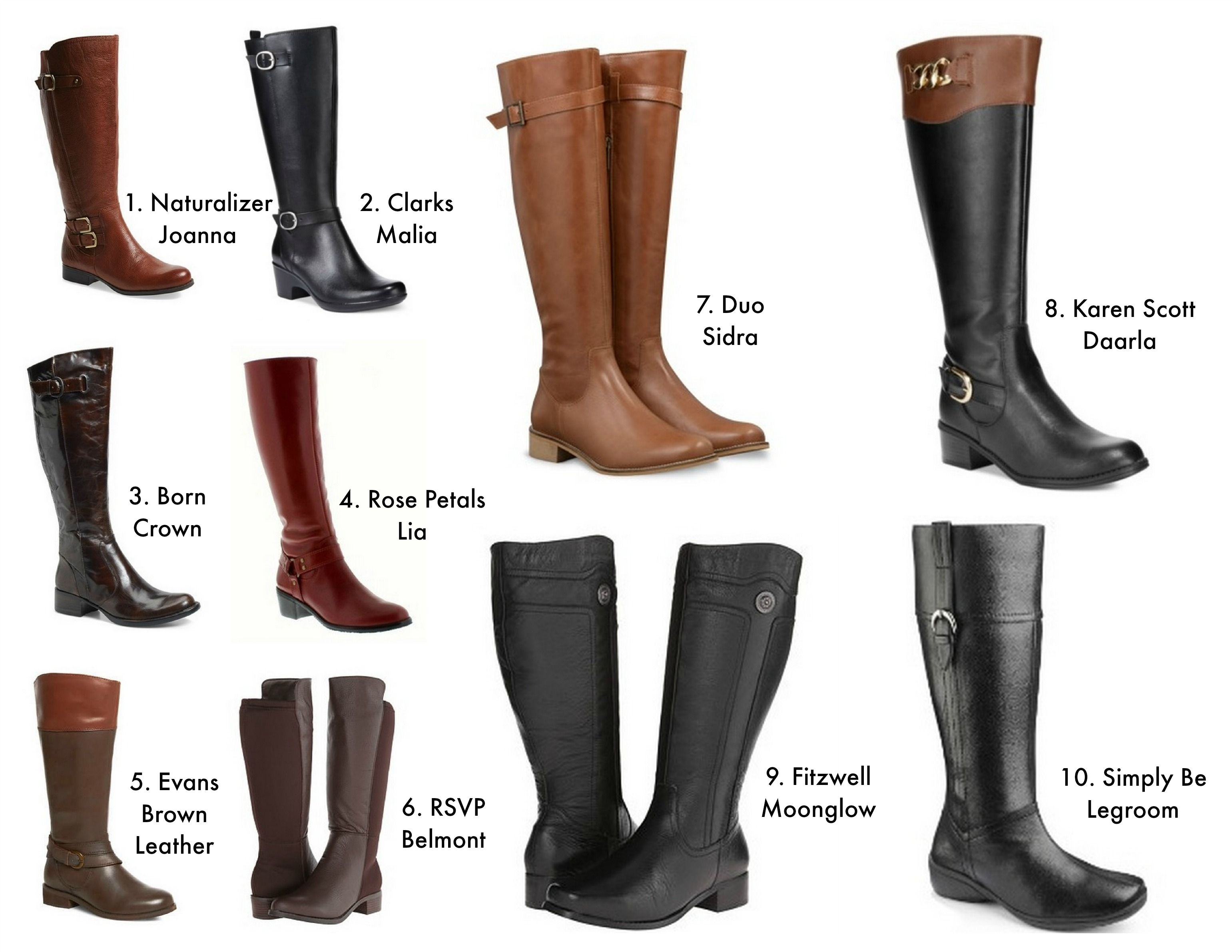 Curvy Fashion: Plus Size Boots | Curvy Sewing Collective | Bloglovin'