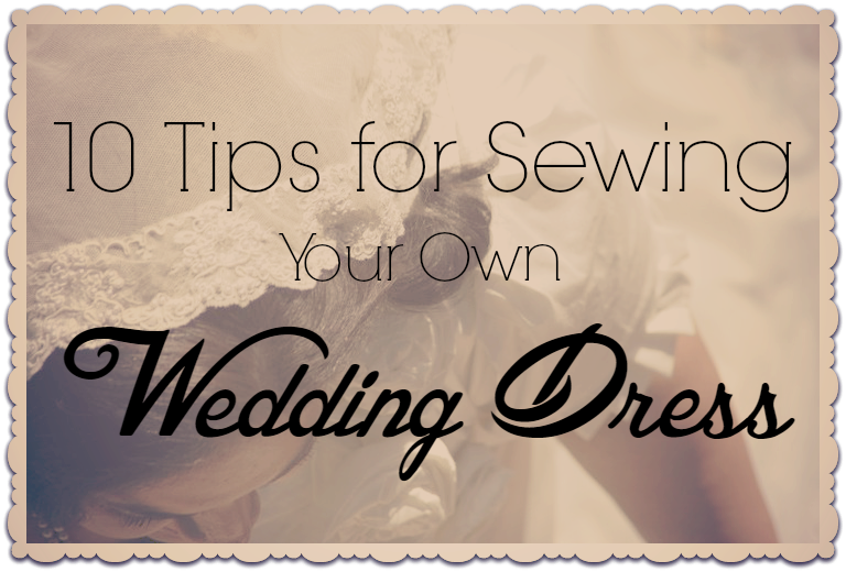 wedding gown sewing