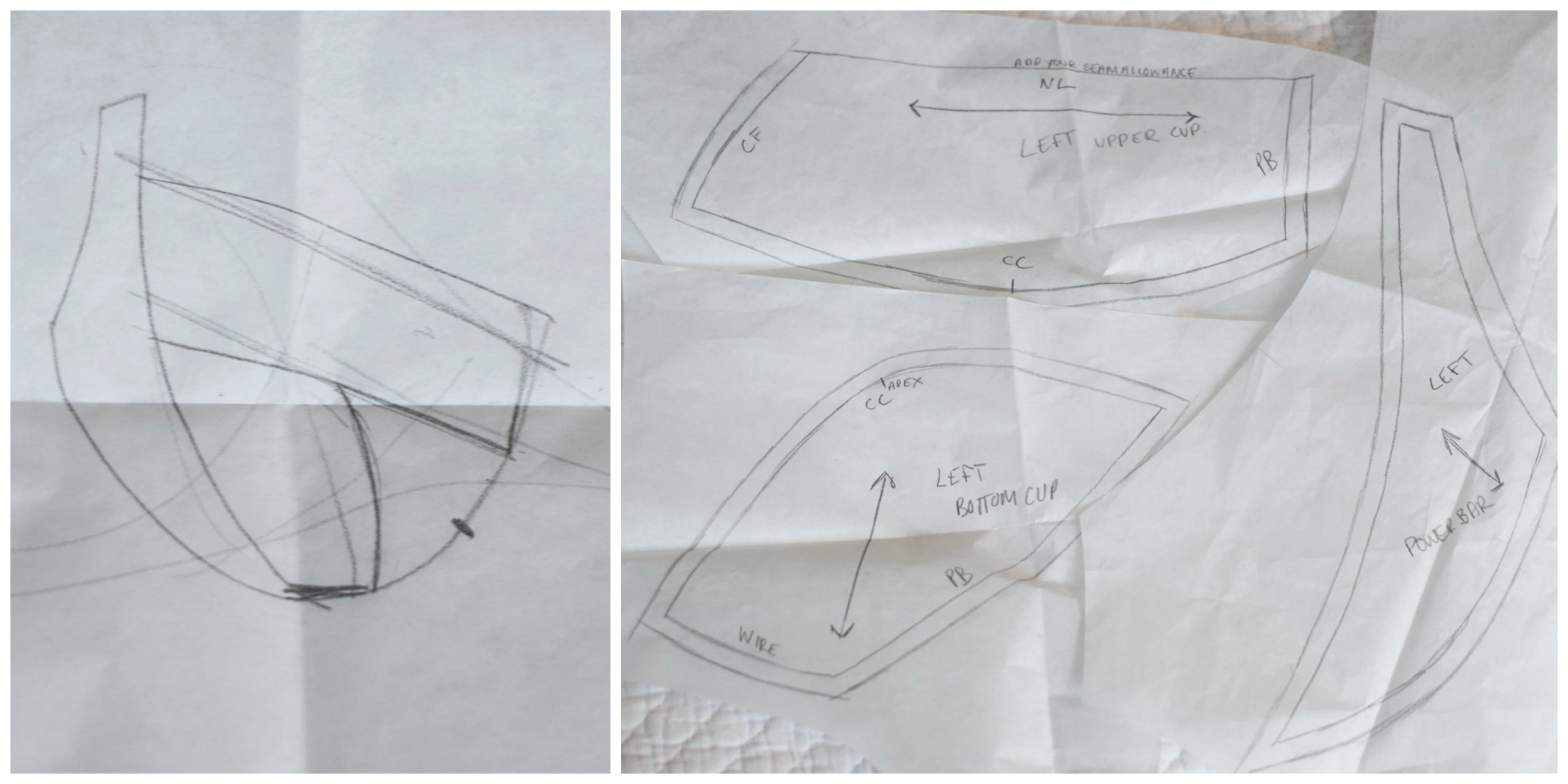 Getting a Custom-Drafted Bra Pattern | Curvy Sewing Collective ...